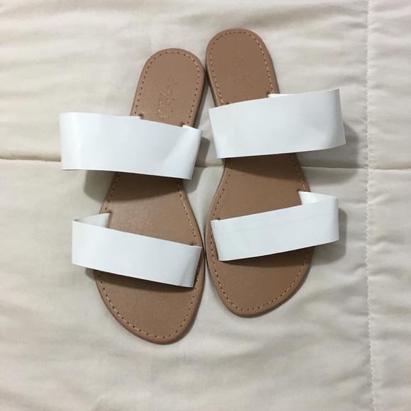 Charlotte Russe White Summer Sandals